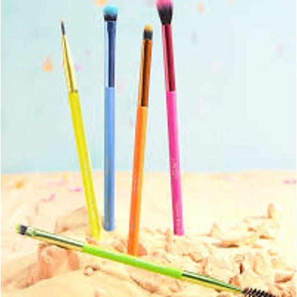 Lavish 5pc Neon Eye Brush Set BNIB